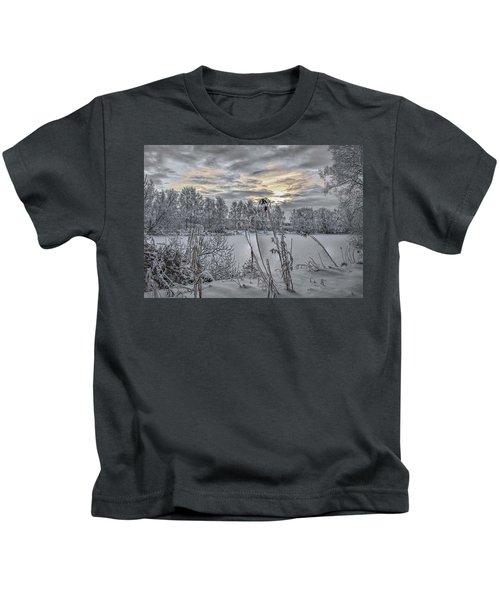 Snow #i3 Kids T-Shirt
