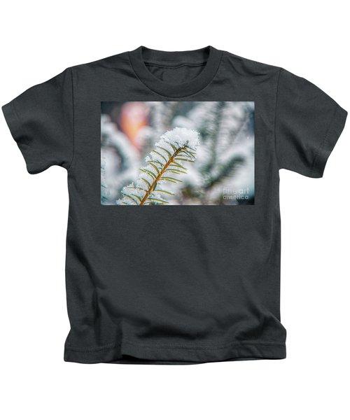 Snow Needle Kids T-Shirt