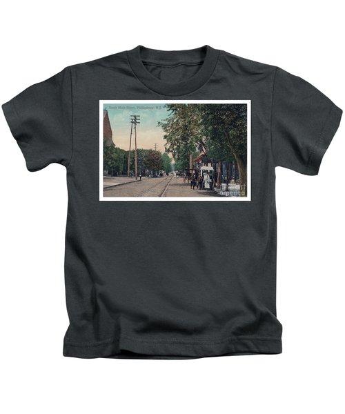 South Main Street Phillipsburg N J Kids T-Shirt