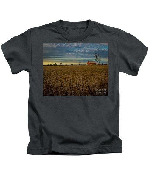Soybean Sunset Kids T-Shirt
