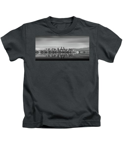 Special View Of Downtown Vancouver Kids T-Shirt