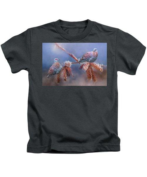 Speckled Pigeons Kids T-Shirt