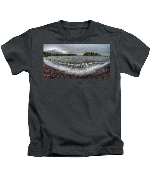 Split Rock Lighthouse State Park Kids T-Shirt
