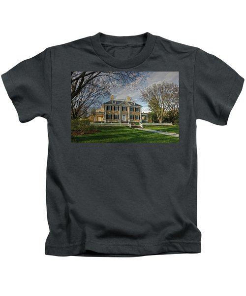 Springtime At Longfellow House Kids T-Shirt