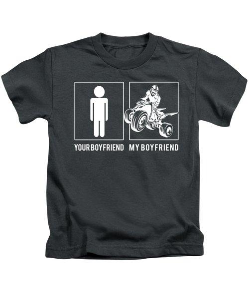 Squad Your Boyfriend My Boyfriend Kids T-Shirt