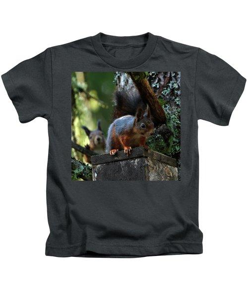 Squirrels Kids T-Shirt