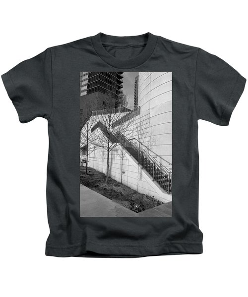 Stairs Up The Side Kids T-Shirt