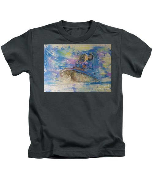 Staying The Course Kids T-Shirt