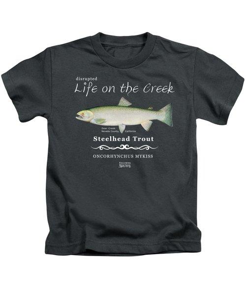 Steelhead Trout Kids T-Shirt