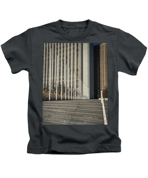 Steps And Poles Kids T-Shirt
