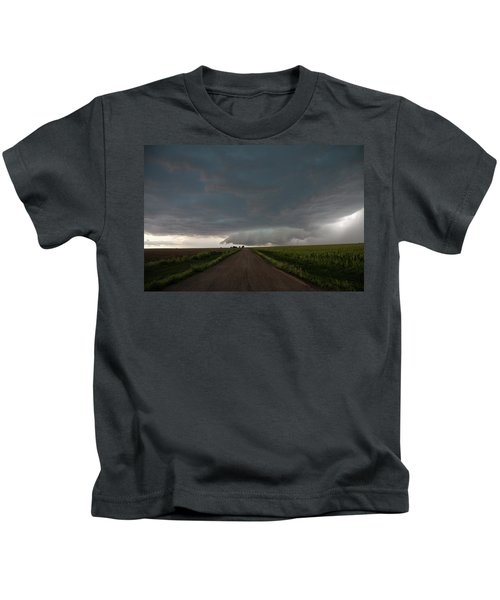 Storm Chasin In Nader Alley 025 Kids T-Shirt