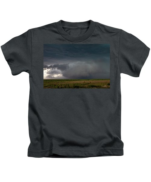 Storm Chasin In Nader Alley 030 Kids T-Shirt