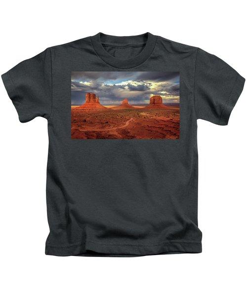 Stormy Background Kids T-Shirt