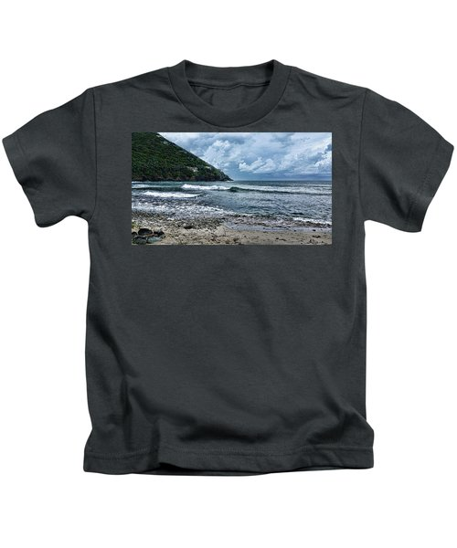 Stormy Shores Kids T-Shirt