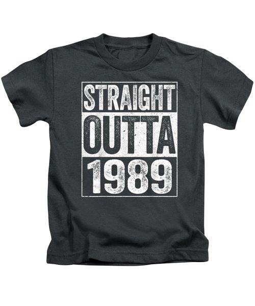 Straight Outta 1989 T-shirt 30th Birthday Gift Shirt Kids T-Shirt