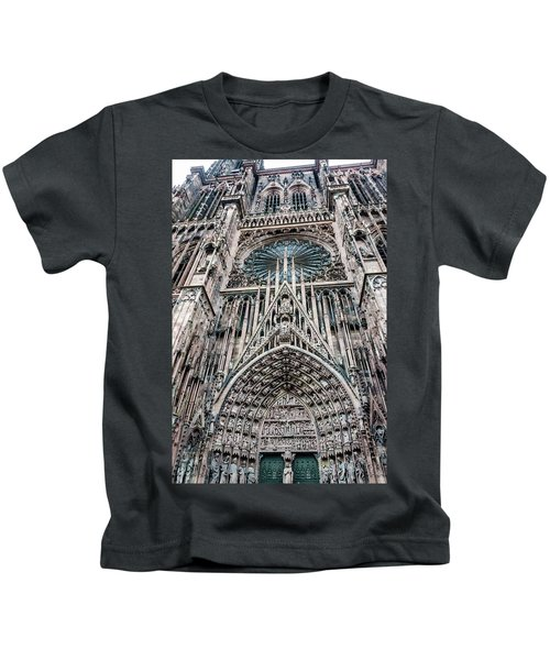 Strasbourg Cathedral Kids T-Shirt