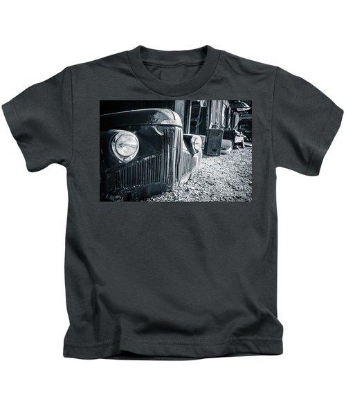 Studebaker Gold King Mine Jerome Arizona Kids T-Shirt