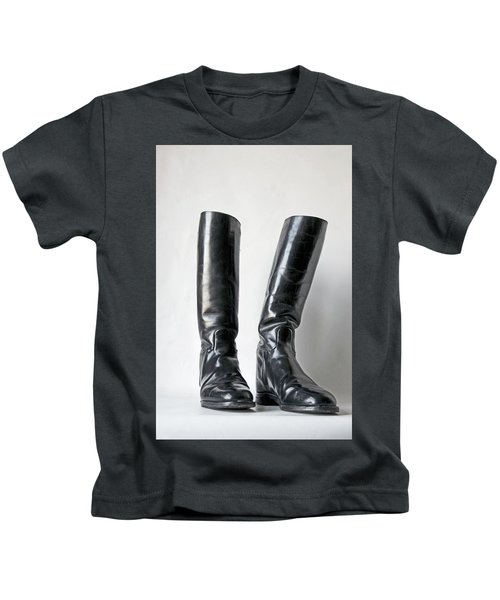 Studio. Riding Boots. Kids T-Shirt