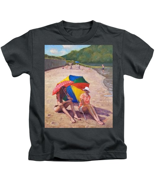 Summer At Jersey Valley Kids T-Shirt
