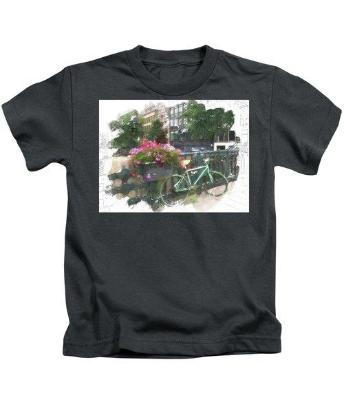 Summer In Amsterdam Kids T-Shirt