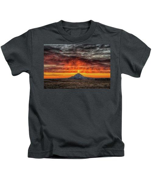Sunday Sunrise Nov. 11, 2018 Kids T-Shirt