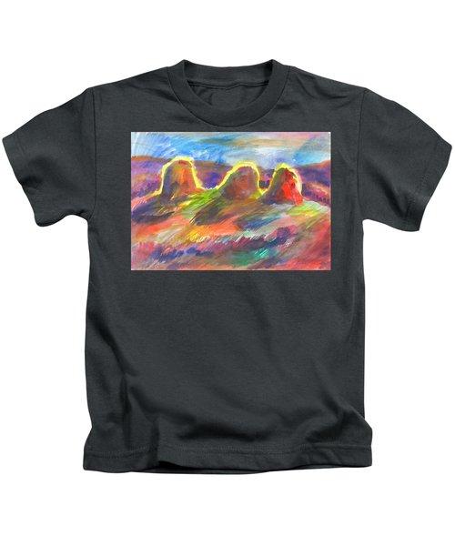 Sunny Haystacks Kids T-Shirt