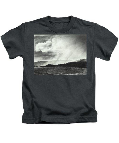 Sunny Rainfall Kids T-Shirt
