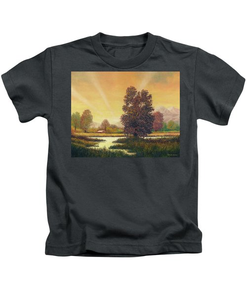 Sunset Color Kids T-Shirt