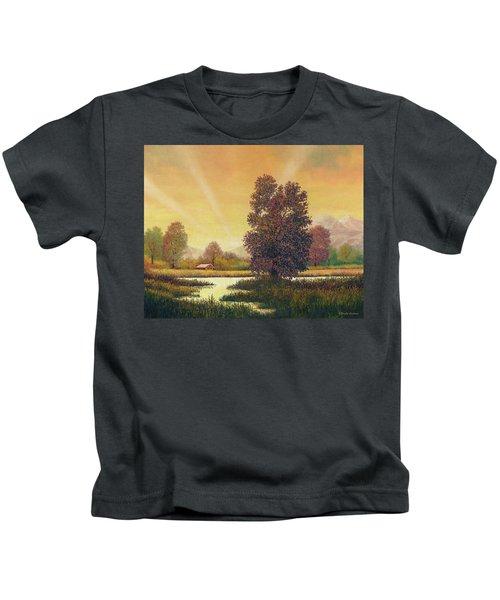 Sunset Color Kids T-Shirt