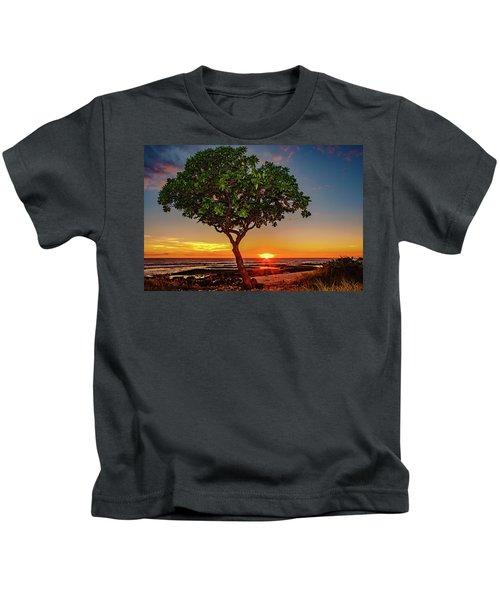 Sunset Tree Kids T-Shirt