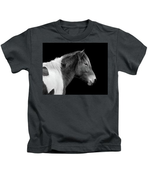 Susi Sole Portrait In Black And White Kids T-Shirt