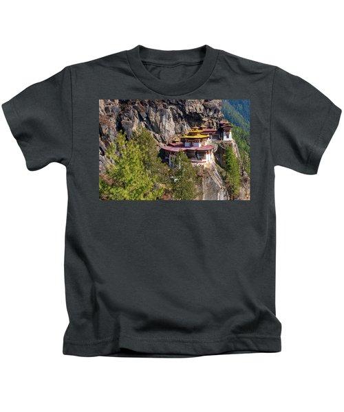 Taktsang Monastery  Kids T-Shirt