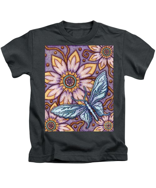 Tapestry Butterfly Kids T-Shirt