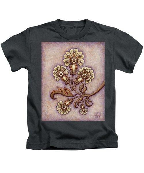 Tapestry Flower 4 Kids T-Shirt