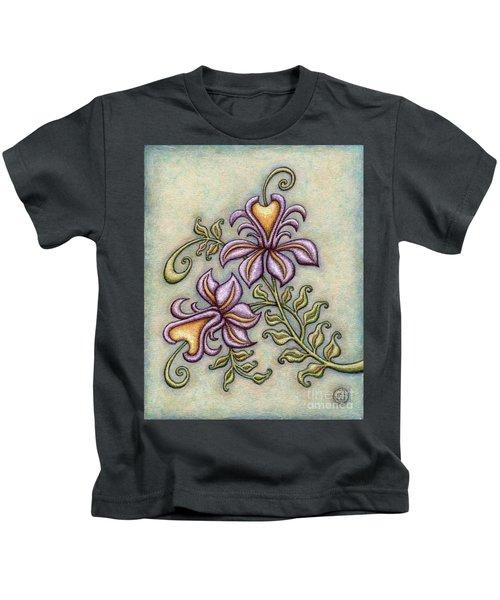 Tapestry Flower 8 Kids T-Shirt