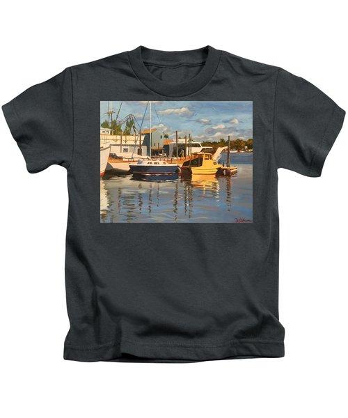 Tarpon Springs Harbour Kids T-Shirt