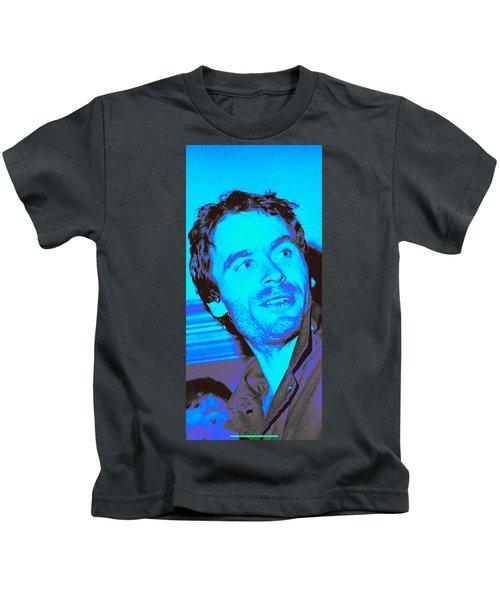 Ted Bundy Blue Kids T-Shirt