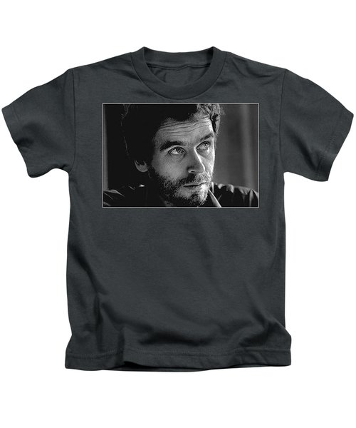 Ted Bundy Bw Kids T-Shirt