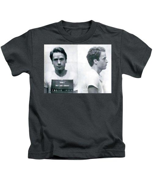 Ted Bundy Mug Shot Kids T-Shirt