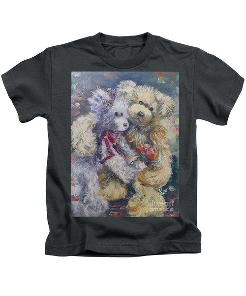 Teddy Bear Honeymooon Kids T-Shirt