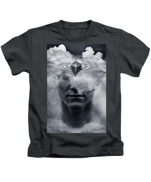 Temporary Rain Kids T-Shirt
