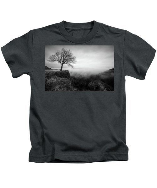 Thacher Scenic Overlook Kids T-Shirt