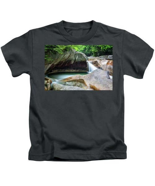The Basin, Springtime Nh Kids T-Shirt