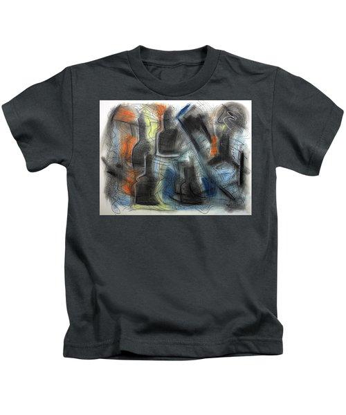 The Bottle Attacks Kids T-Shirt