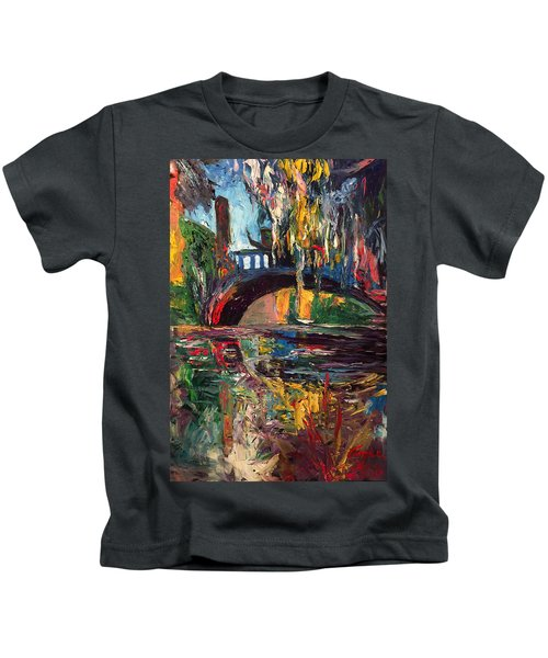 The Bridge At City Park New Orleans Kids T-Shirt