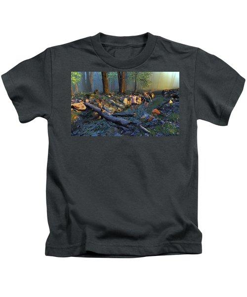 The Crawfish Games Kids T-Shirt
