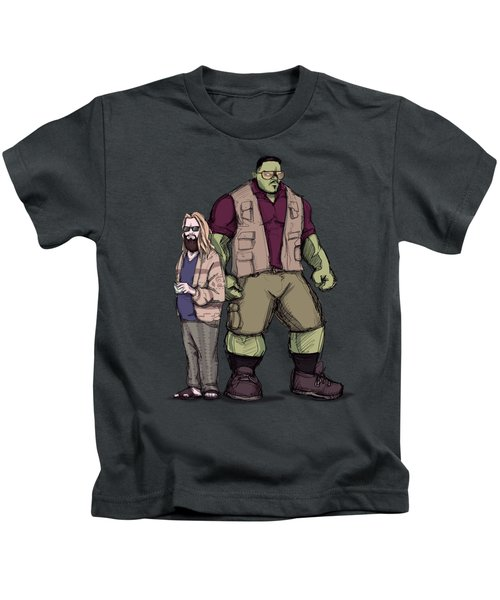 The Dude Of Thunder Kids T-Shirt