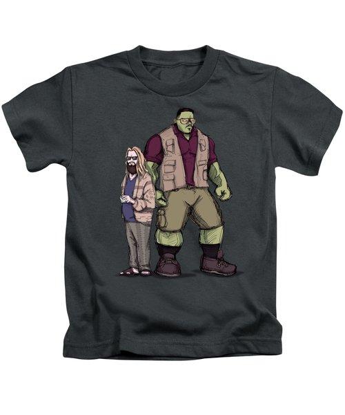 The Dude Of Thunder Kids T-Shirt