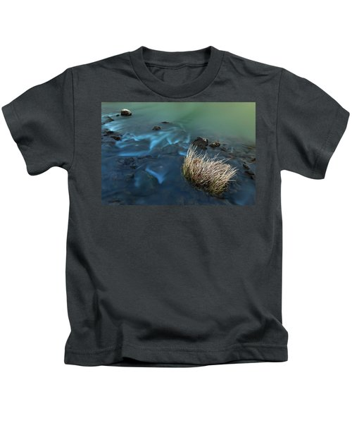 The Flow Of Time Kids T-Shirt