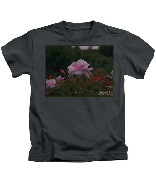 The Glowing Rose Kids T-Shirt